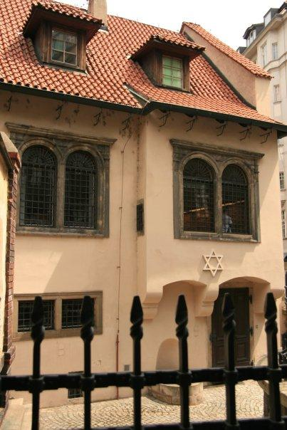 The Jewish Museum.  It contains some of the many pictures drawn by the Jewish children who were captured by the Nazis during WW II.