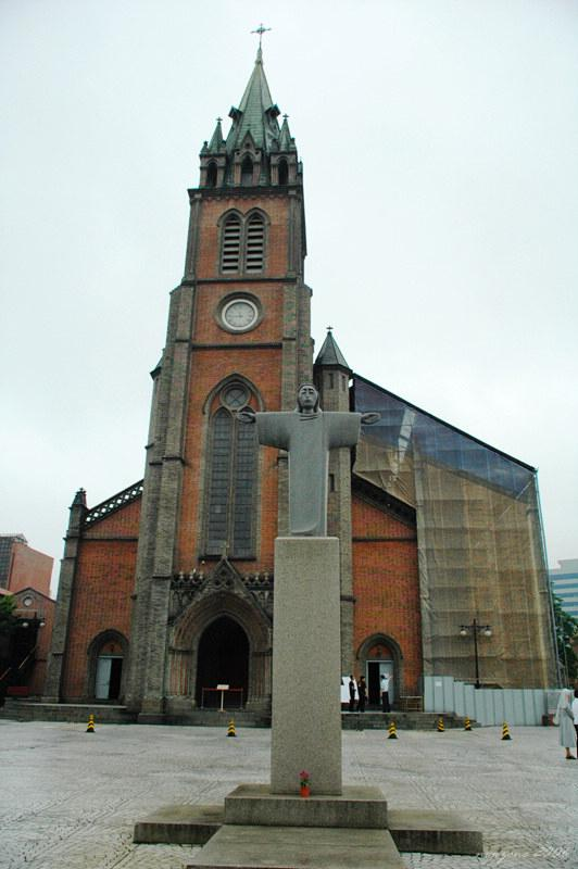 明洞大教堂Myeong-dong Catholic Church