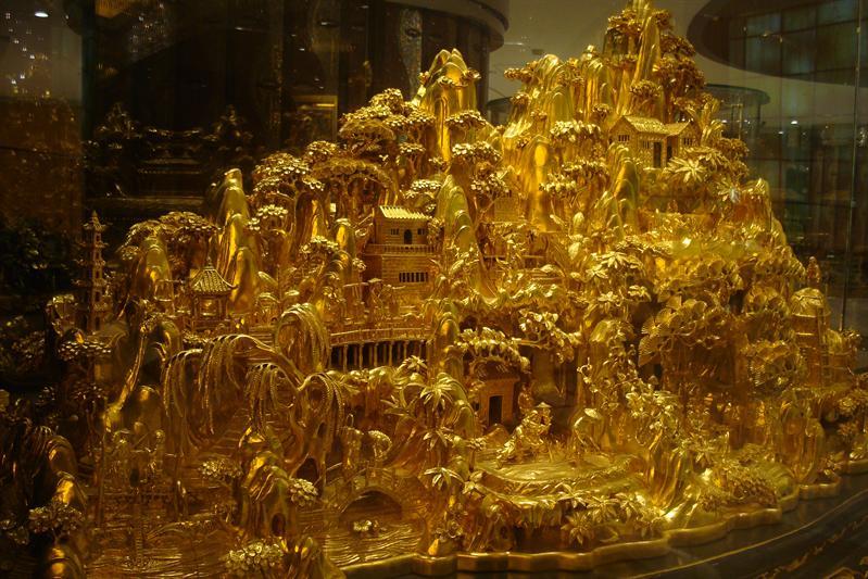 純金的嗎?