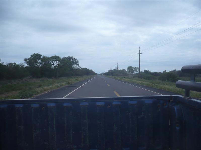 Hauptstraße im Chaco