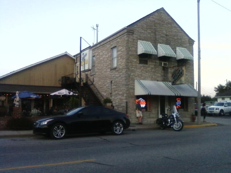from the street, Tiny's Bar n Grill