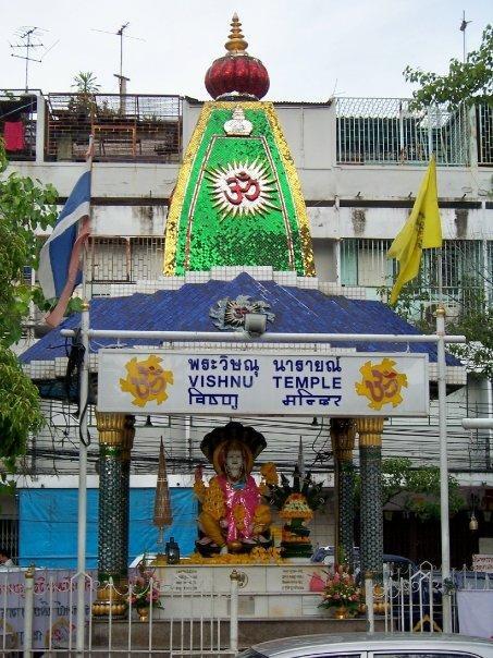 VISHNU TEMPLE, NR WAT SUTHAT, BANGKOK