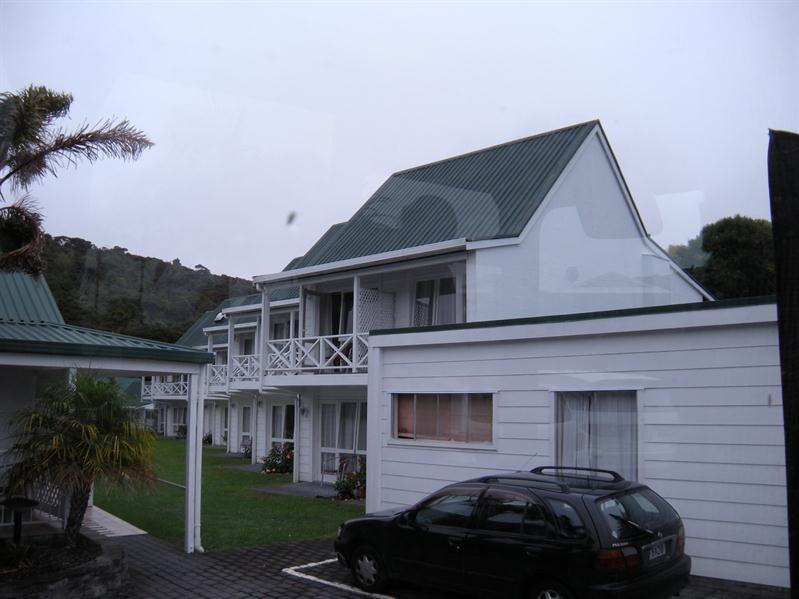 Our hotel at Paihia