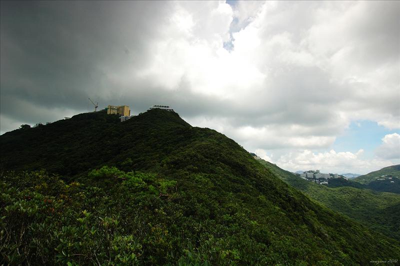 奇力山南脊望奇力山山頂 Mount Kellett South Ridge