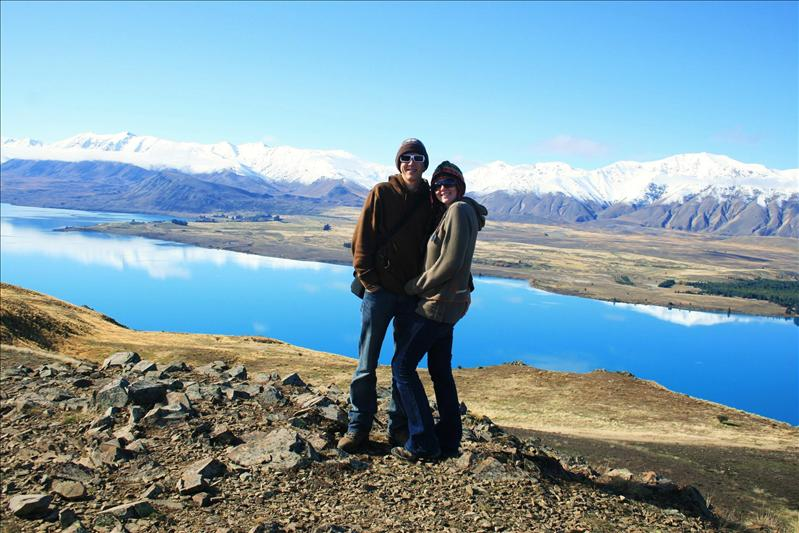Top of Mt John - Lake Tekapo.