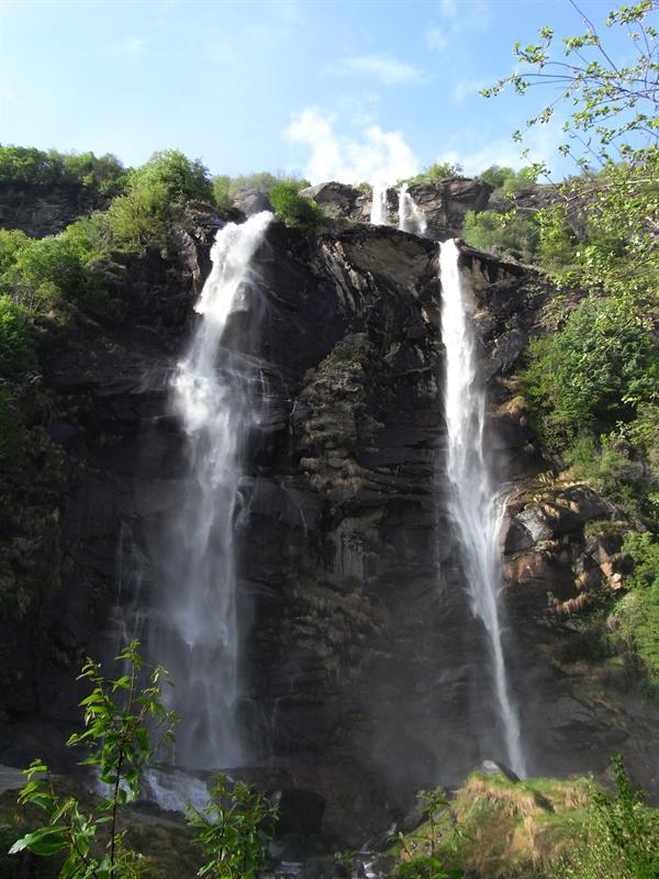 cascata dell'Acquafraggia