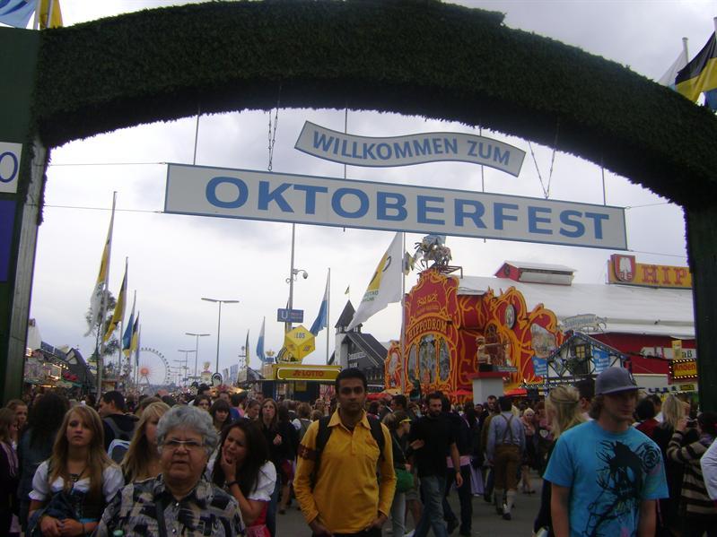 October Fest entrance