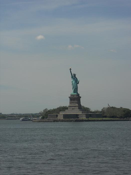 New York - Statue of Liberty from the Staten Island Ferry