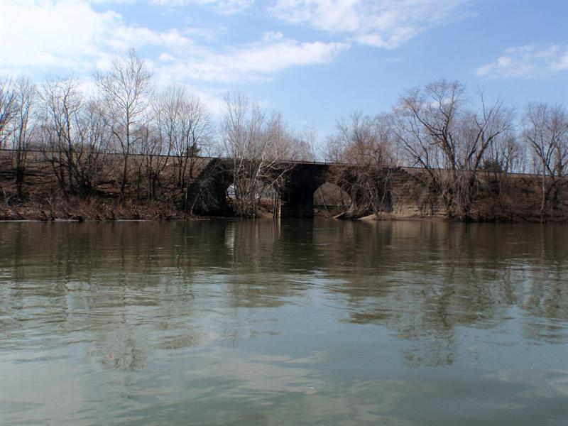Little Bufflao Creek Railroad bridge
