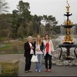 Me, Rebecca and Grandma at Hesketh park
