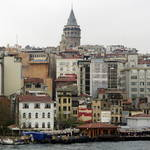 Galata Tower on the skyline