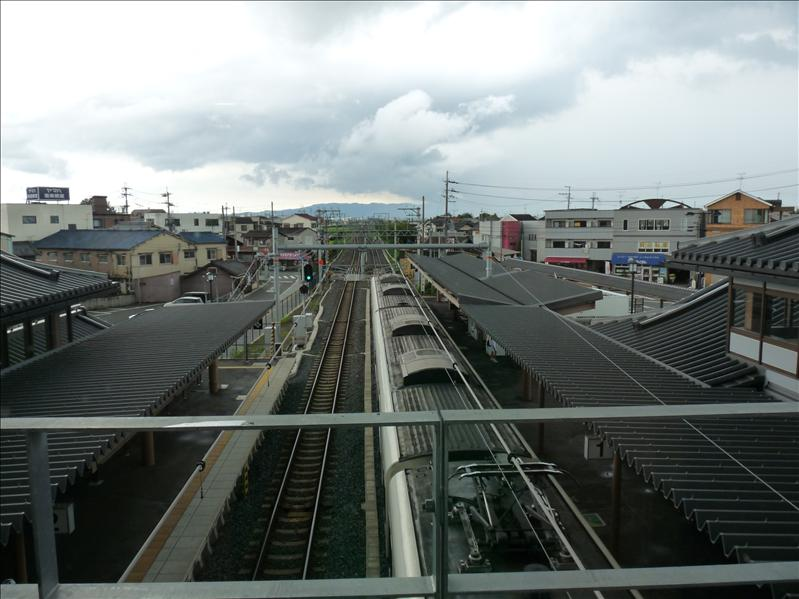 view from the subway from nara