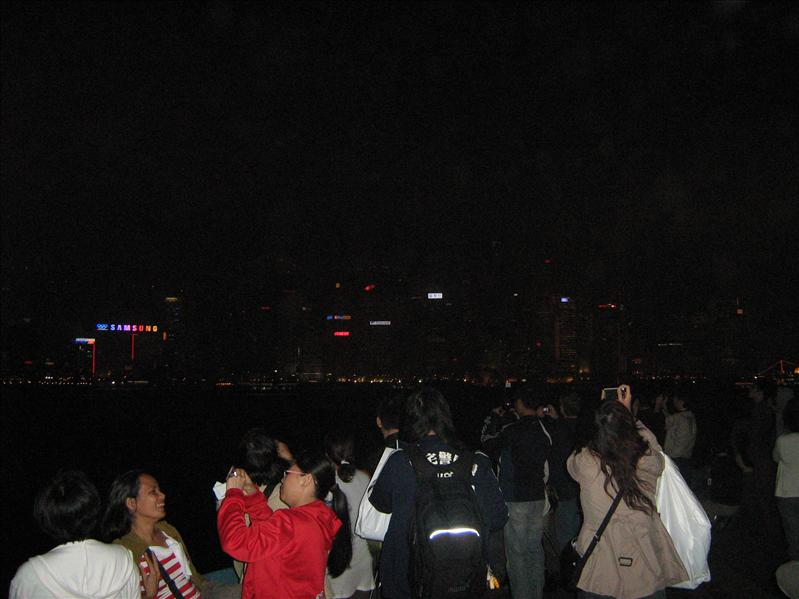 Night Show in Hong Kong