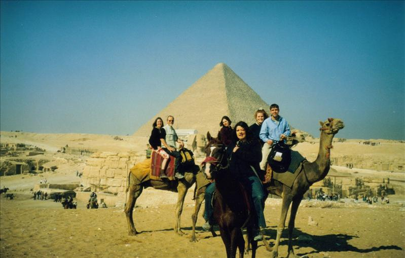 Giza by Camel