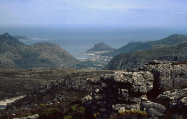 VIEW FROM TABLE MOUNTAIN - SA - MAY