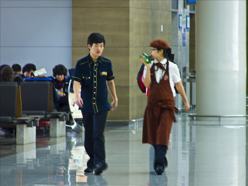 Incheon Airport Staff