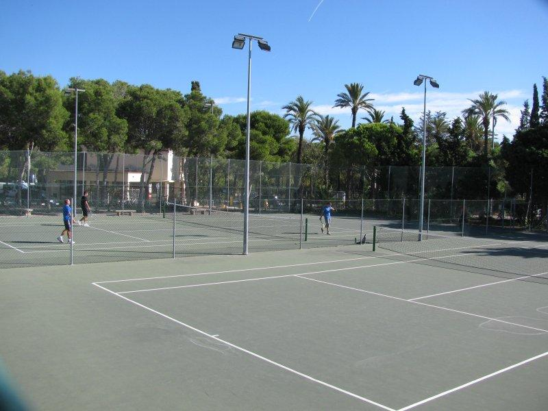 Recreation includes tennis courts .....