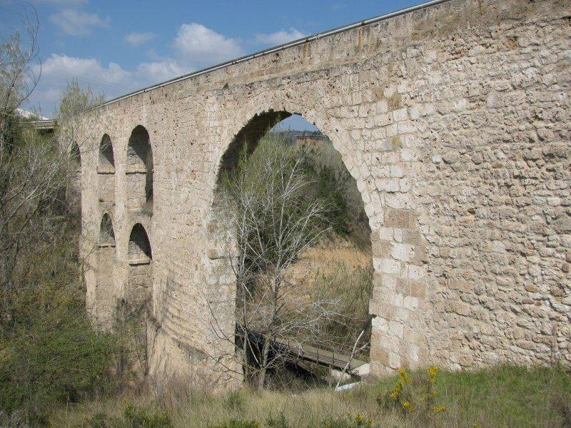 13th century aquaduct ....