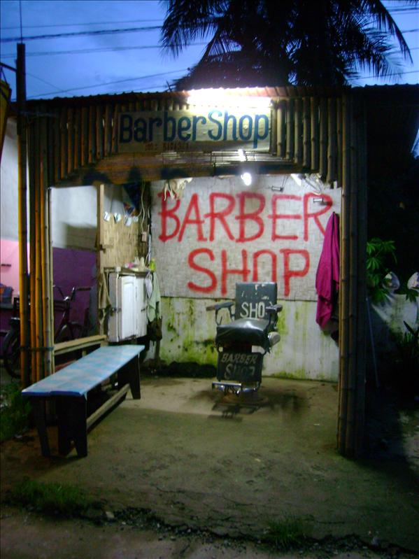 """Barber Shop"", Vang Vieng"