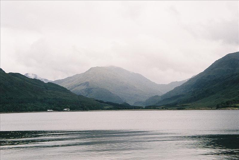 Inverie on Loch Nevis