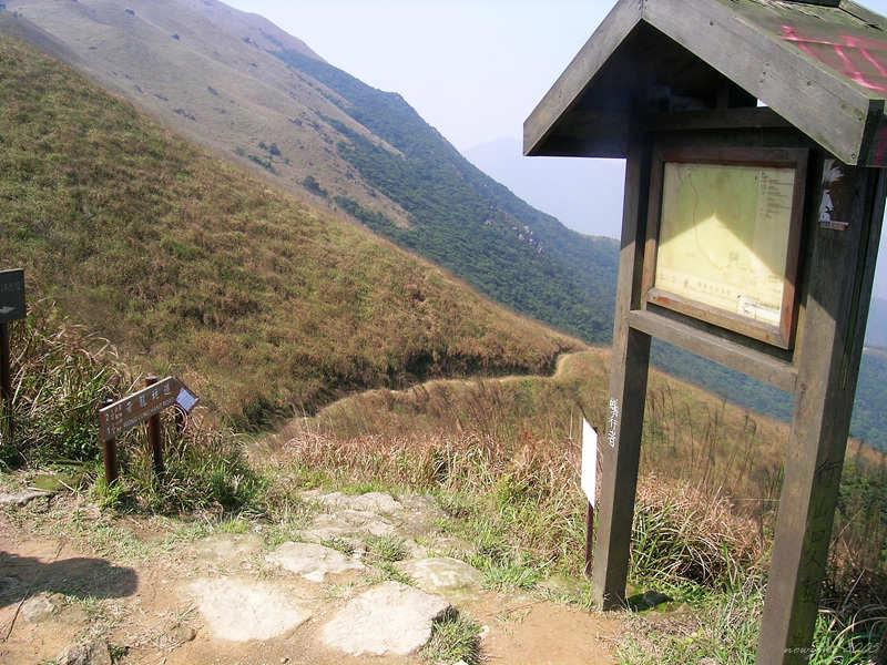 Downhill to Wong Lung Hang Country Trail黃龍坑郊遊徑
