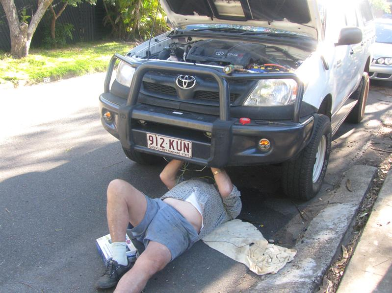 Mechanic in Action!