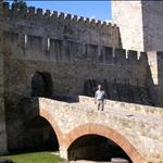 The castle entrance.....