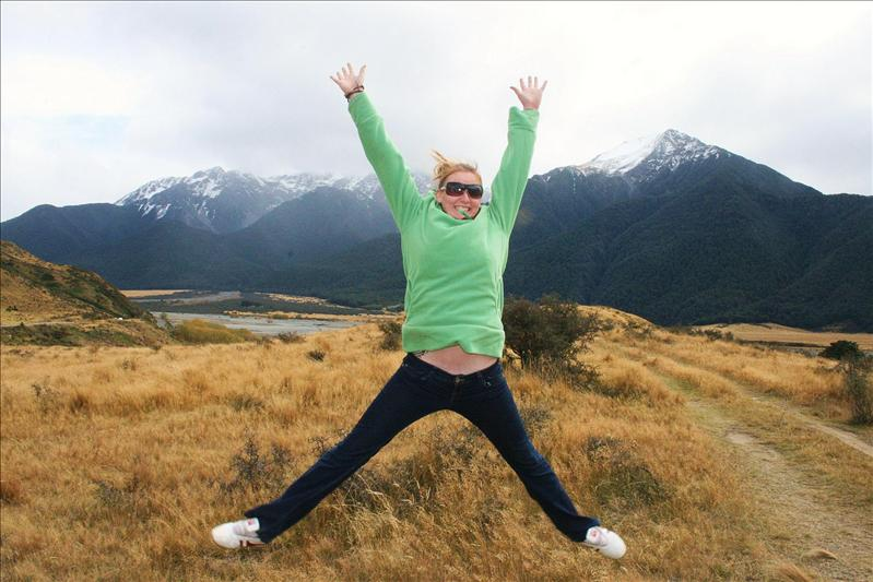 Jumping for joy :0)