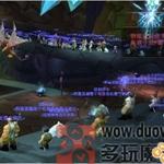 """玩家供图:玩家登陆服务器""""围观""""声援"""