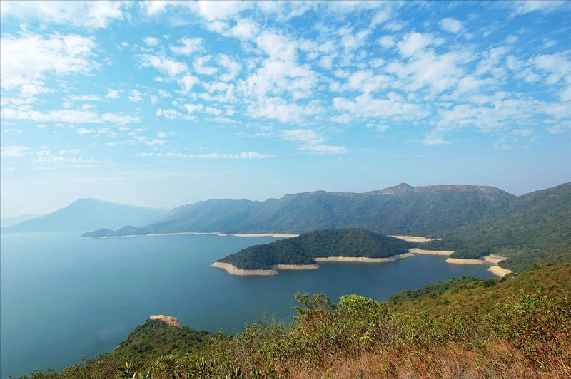 Plover Cove Reservoir & Wang Leng 船灣淡水湖及橫嶺風光