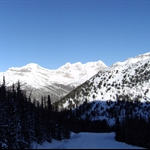 Skifahren in Lake Louise...