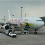 去程的飛機 @ 香港機場