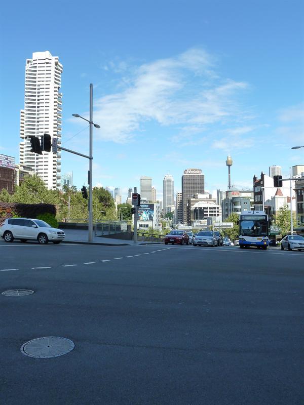 Ind over Sydney centrum
