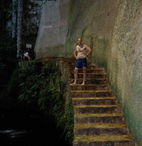 A PLUNGE INTO THE ABYSS - CENOTE, IK KIL PARQUE ECOARQUEOLOGICO, CHICHEN ITZA, YUCATAN - THAT'S A MOUTHFUL