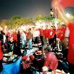 Red Shirt Mob in Rajdumnern