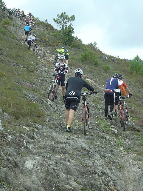... também tivemos direito a escalada ...