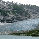 Glacier at Jostedalsbreen  & Sogn og Fjordane, Norway, Aug 2005