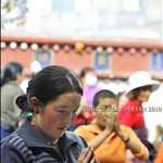 PIlgrim at Jokhang temple