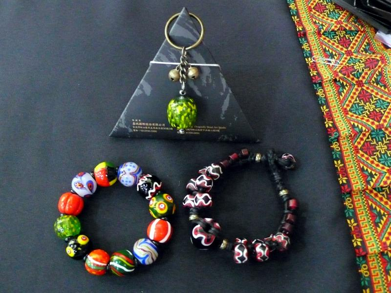送給兩位總統的琉璃珠
