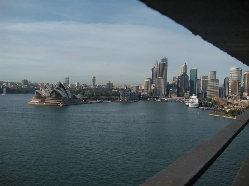 Sydney from the bridge