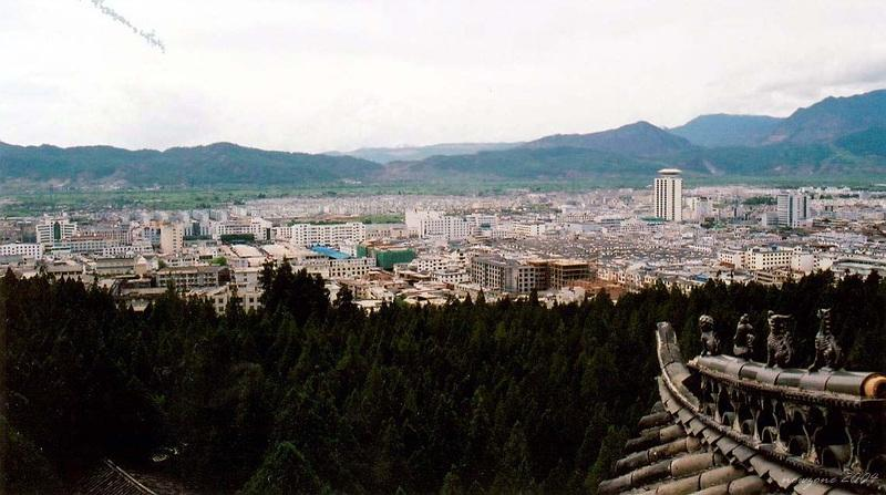 Lijiang Ancient City, view from Wangu Edifice (Thousands-year- old Edifice) 麗江古城