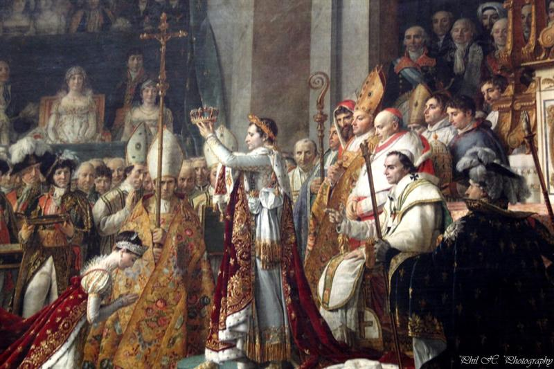 Louvre - David, Coronation of Napoleon