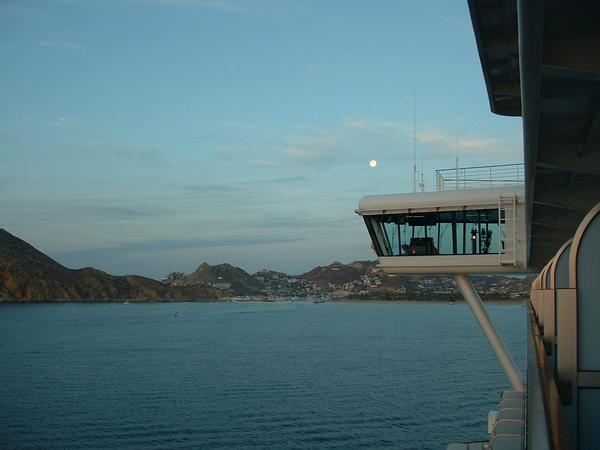 View of Cabo,from ship