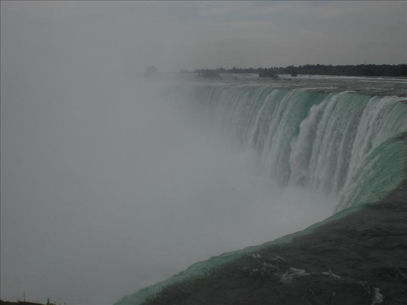 The Horeshoe Falls in Canada..