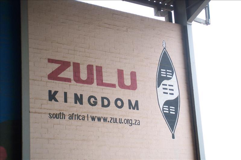 Nous entrons dans le Royaume Zoulou