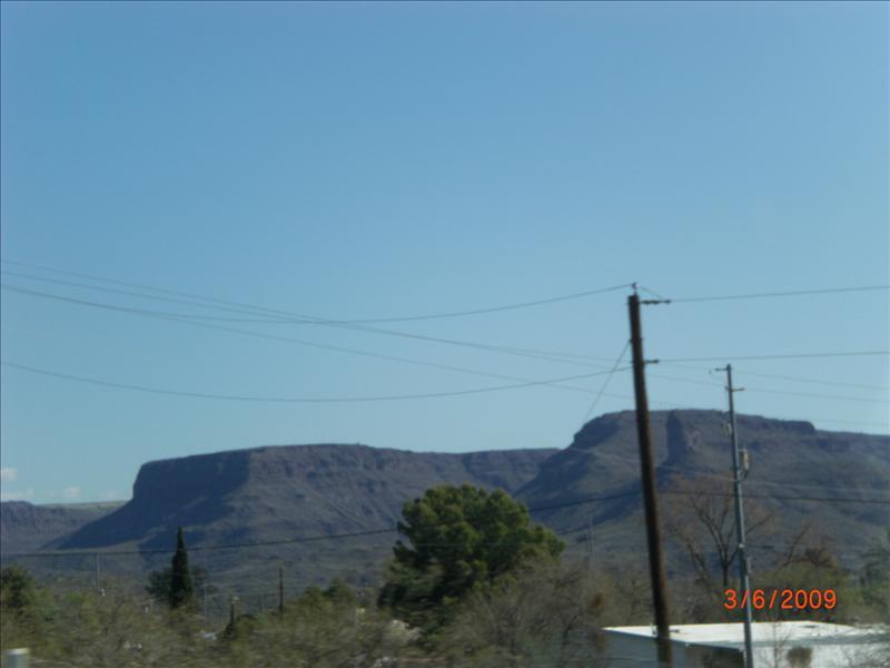 pretty mesa along I-17