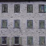 Livigno: lake and windows