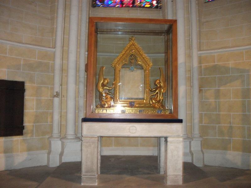 The Holy Veil Of Virgin Mary.