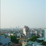 The skyline of Hanoi