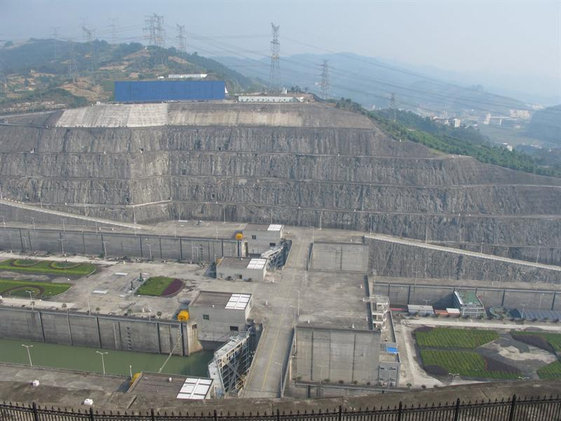 """ Three Gorges Dam Project"" site"